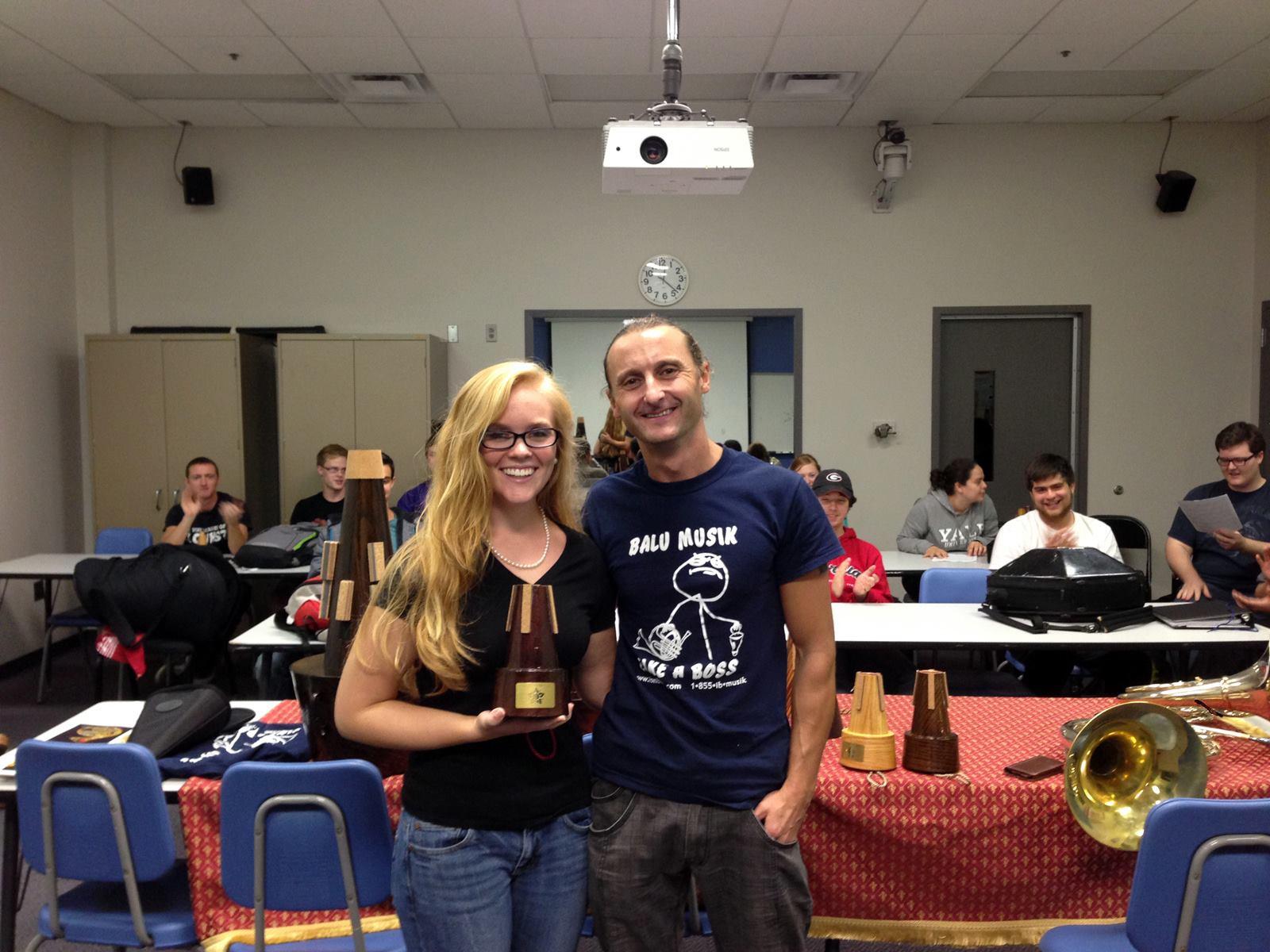 Masterclass winner Athens GA